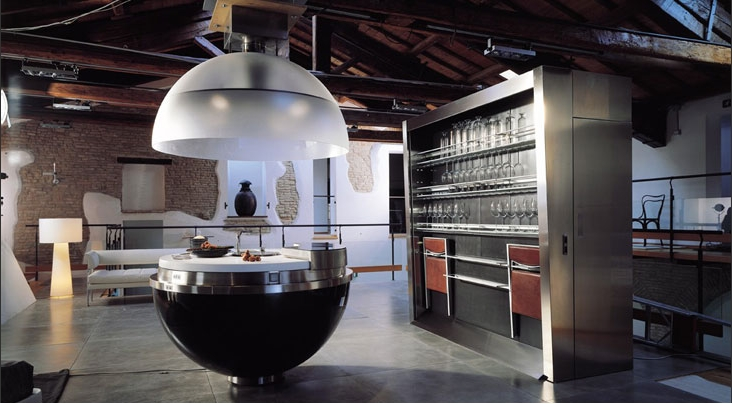 European kitchen designers reinvent the kitchen