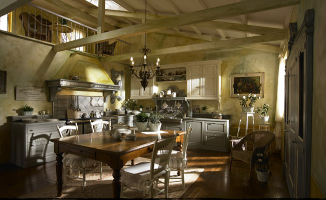 Dhialma Marchi A Very Elegant Traditional Kitchen