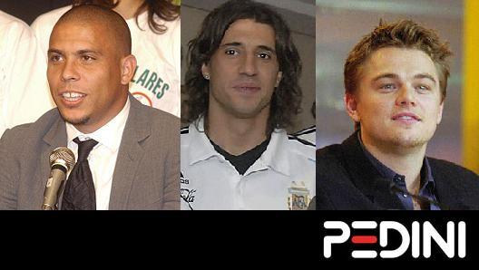 What do Ronaldo, Crespo and Leonardo Dicaprio all have in common? An Italian kitchen, made by Pedini!