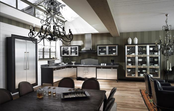 The Dechora model, from Marchi Cucine