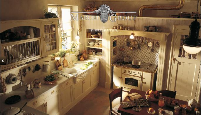 The Old England Model from the Country Chic Collection by Marchi Cucine