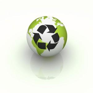 Green eco friendly kitchens