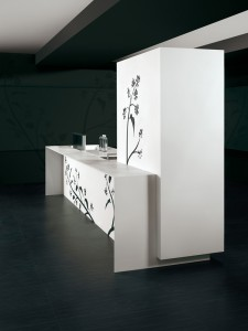 TM Italia - Touch Tatoo kitchen in Corian