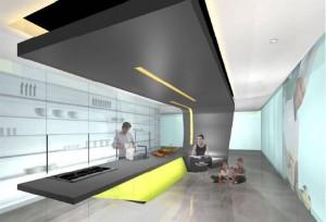 Modern aesthetic kitchen