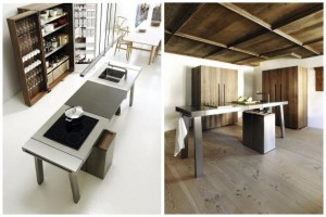 """""""Out with design!"""" read Gerd Bulthaup's request in 2005 when he asked EOOS to think about a mobile kitchen system."""