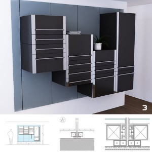 Our kitchen concepts is up to date with peoples new concept of living.