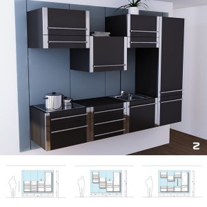 Our design features all the necessary tools a kitchen must have.