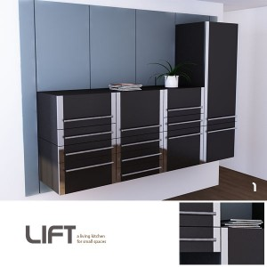 A new kitchen concept that fulfils our days needs for modular and dynamic systems