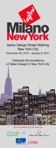 Italian Design Street Walking - New York City