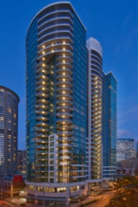 Escala, in Seattle, WA. is where the Fifty Shades of Grey story takes place